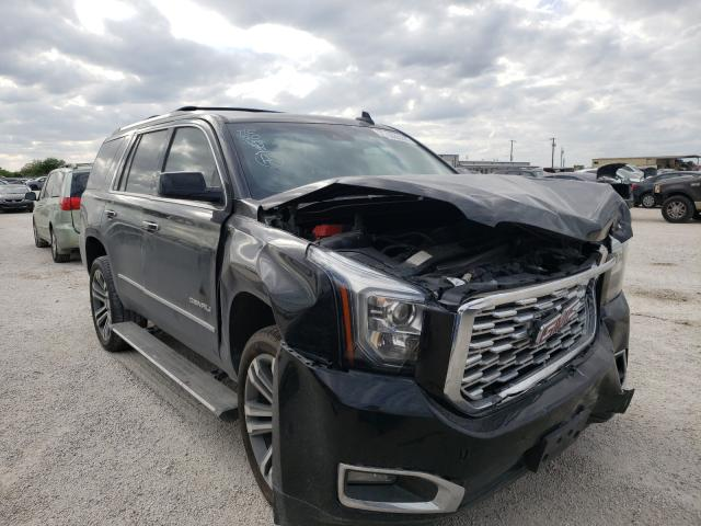 Salvage cars for sale from Copart San Antonio, TX: 2019 GMC Yukon Dena