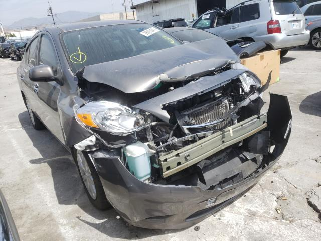 Nissan salvage cars for sale: 2012 Nissan Versa S