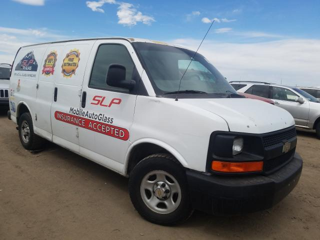Salvage cars for sale from Copart Brighton, CO: 2005 Chevrolet Express G1