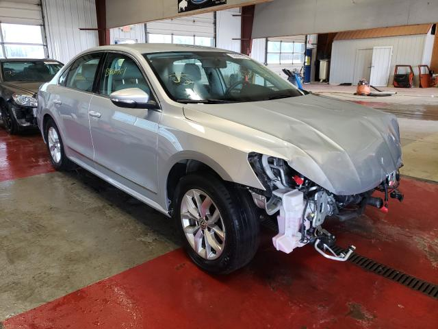 Salvage cars for sale from Copart Angola, NY: 2017 Volkswagen Passat S