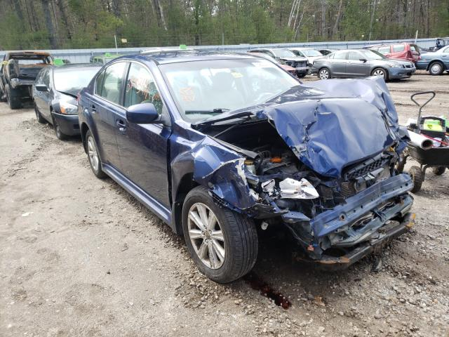 Salvage cars for sale from Copart Lyman, ME: 2011 Subaru Legacy 2.5
