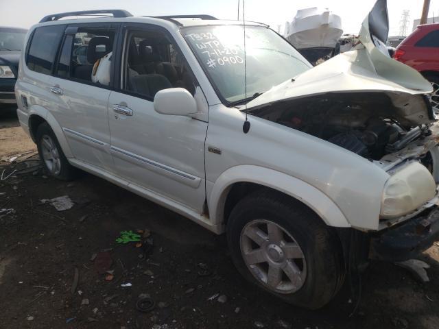 Salvage cars for sale from Copart Woodhaven, MI: 2002 Suzuki XL7