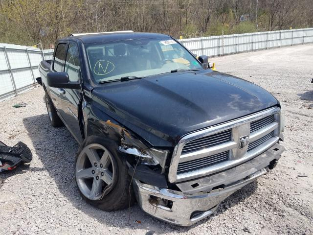 Salvage cars for sale from Copart Hurricane, WV: 2012 Dodge RAM 1500 S