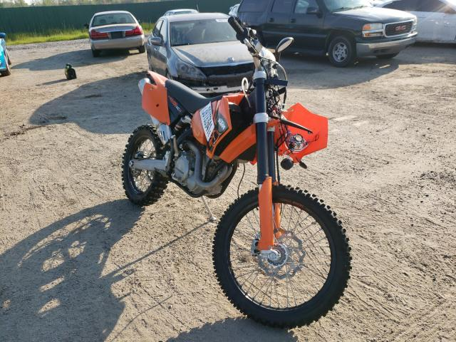 KTM salvage cars for sale: 2007 KTM 450 EXC RA