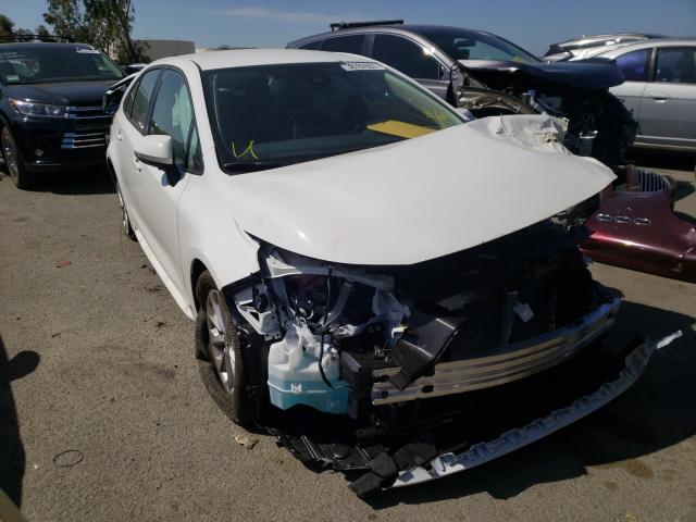 Salvage cars for sale from Copart Martinez, CA: 2021 Toyota Corolla LE