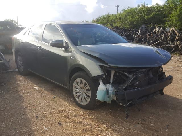 Salvage 2012 TOYOTA CAMRY - Small image. Lot 37815001