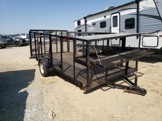 Salvage cars for sale from Copart Gainesville, GA: 2015 Trail King Trailer
