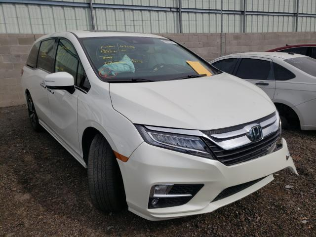 Salvage cars for sale from Copart Albuquerque, NM: 2018 Honda Odyssey EL
