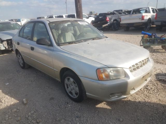 Salvage cars for sale from Copart Temple, TX: 2001 Hyundai Accent GL