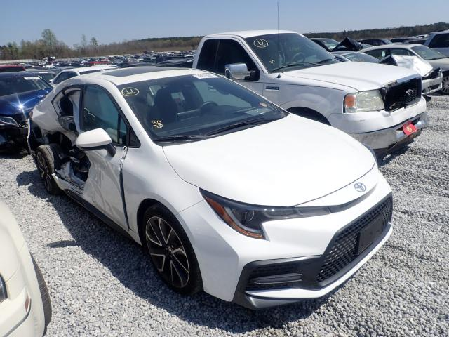 Salvage cars for sale from Copart Spartanburg, SC: 2020 Toyota Corolla SE