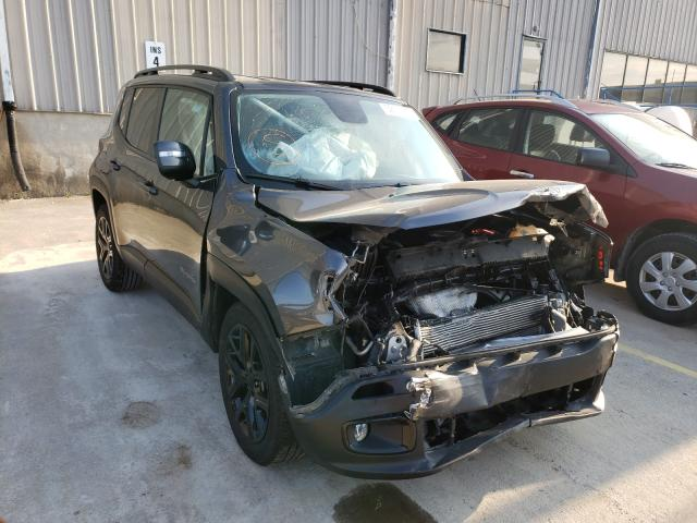 Salvage cars for sale from Copart Lawrenceburg, KY: 2018 Jeep Renegade L