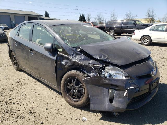 Salvage cars for sale from Copart Eugene, OR: 2015 Toyota Prius