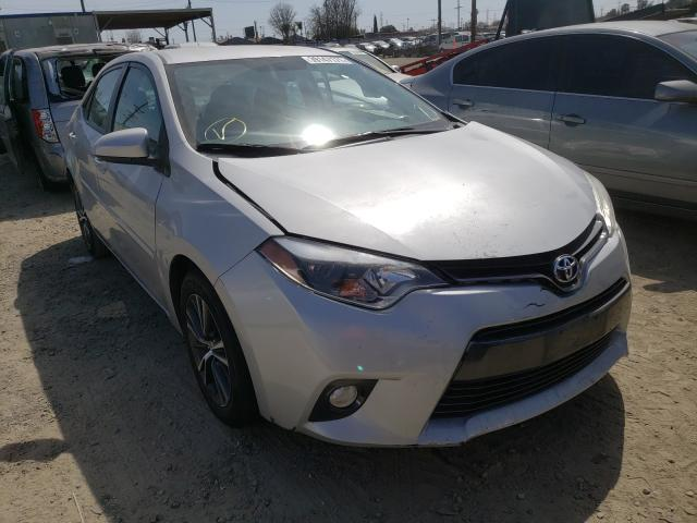 Salvage cars for sale from Copart Los Angeles, CA: 2016 Toyota Corolla L