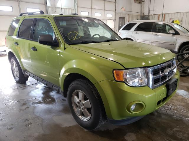 Salvage cars for sale from Copart Columbia, MO: 2012 Ford Escape XLT