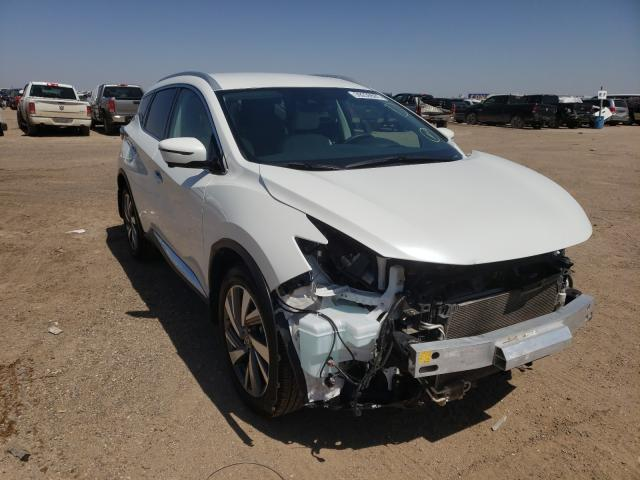 Salvage cars for sale from Copart Amarillo, TX: 2020 Nissan Murano SL