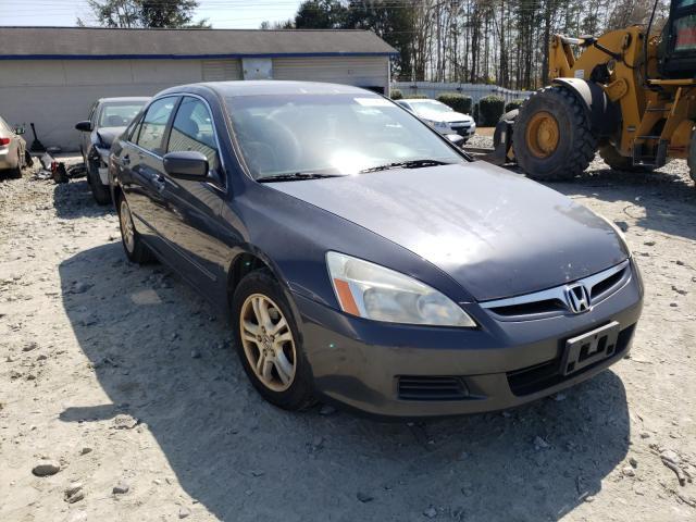 Vehiculos salvage en venta de Copart Mebane, NC: 2006 Honda Accord