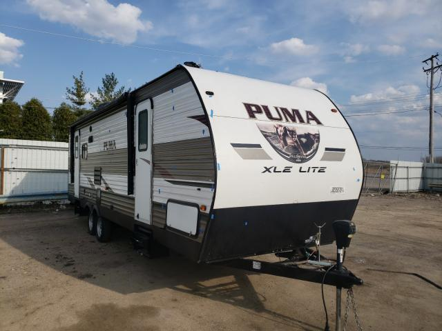 Palomino salvage cars for sale: 2019 Palomino Puma