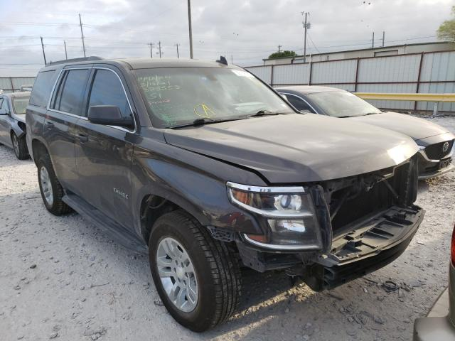 Salvage cars for sale from Copart Haslet, TX: 2016 Chevrolet Tahoe C150