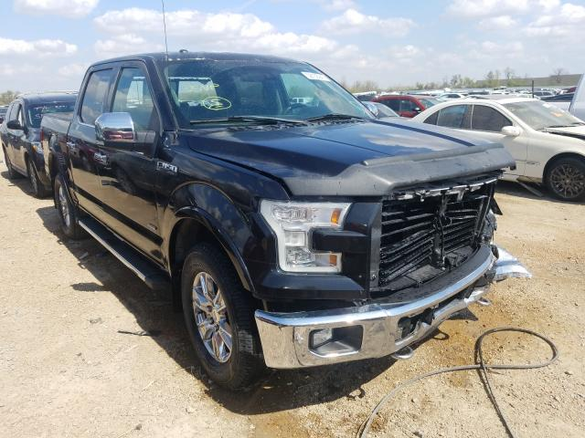 Salvage cars for sale from Copart Bridgeton, MO: 2015 Ford F150 Super