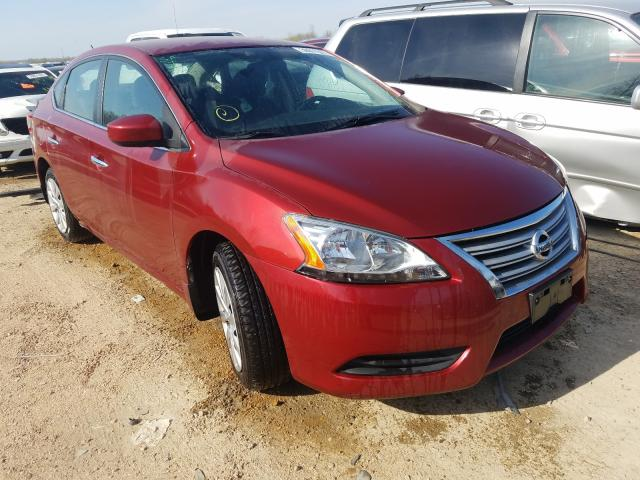Salvage cars for sale from Copart Bridgeton, MO: 2015 Nissan Sentra S