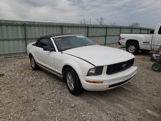 Salvage cars for sale from Copart Kansas City, KS: 2007 Ford Mustang