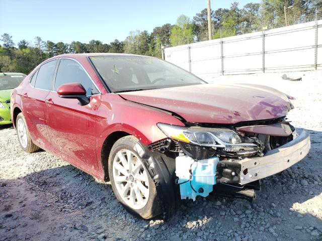 Salvage cars for sale from Copart Ellenwood, GA: 2020 Toyota Camry LE