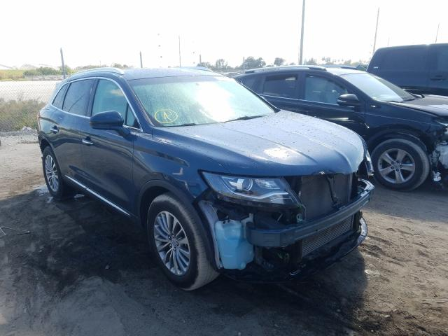 Lincoln Vehiculos salvage en venta: 2016 Lincoln MKX Select