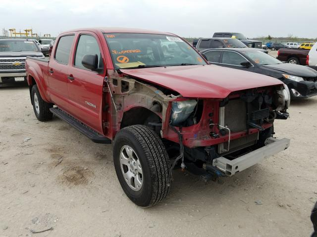 Salvage cars for sale from Copart Kansas City, KS: 2012 Toyota Tacoma DOU