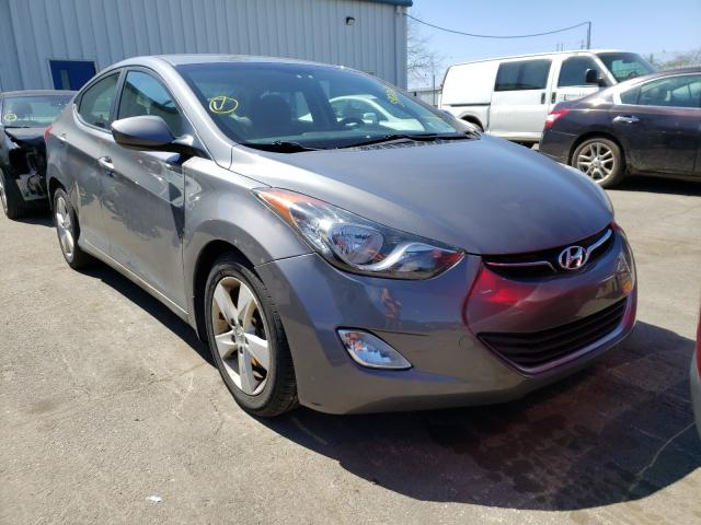 Salvage cars for sale from Copart Brookhaven, NY: 2013 Hyundai Elantra GL