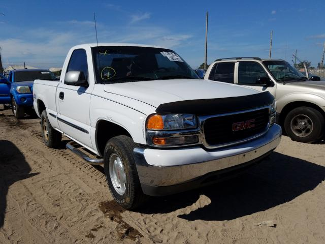 Salvage cars for sale from Copart West Palm Beach, FL: 2000 GMC New Sierra