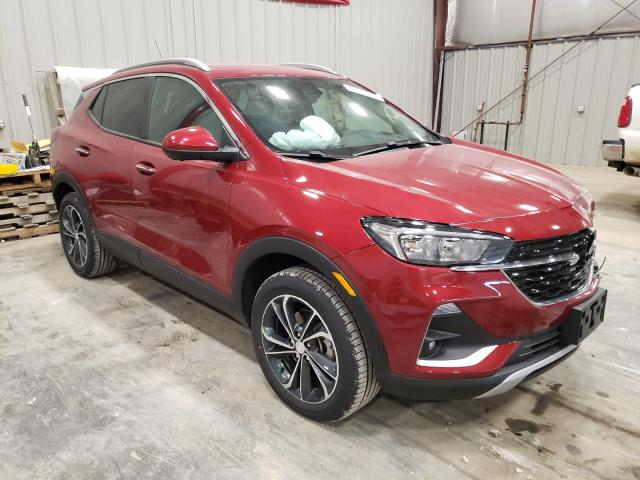 Salvage cars for sale from Copart Appleton, WI: 2021 Buick Encore GX