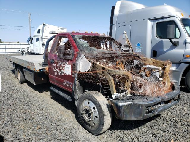 Salvage cars for sale from Copart Airway Heights, WA: 2018 Ford F550 Super