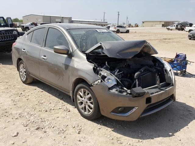 Salvage cars for sale from Copart San Antonio, TX: 2017 Nissan Versa S