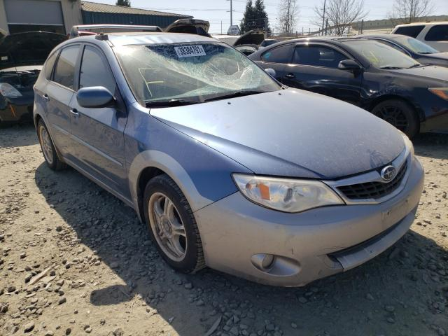 Salvage cars for sale from Copart Eugene, OR: 2008 Subaru Impreza OU