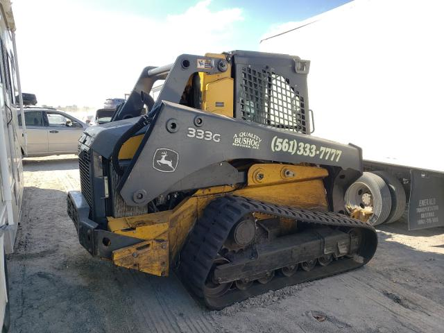 John Deere 333G salvage cars for sale: 2019 John Deere 333G