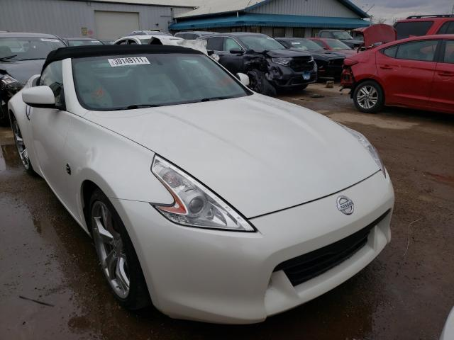 Salvage cars for sale from Copart Pekin, IL: 2010 Nissan 370Z
