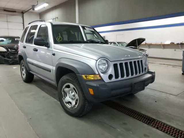 Jeep salvage cars for sale: 2007 Jeep Liberty SP