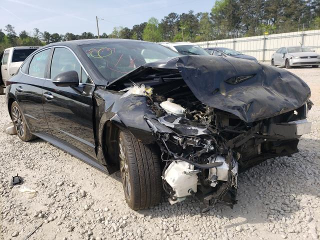 Salvage cars for sale from Copart Ellenwood, GA: 2020 Hyundai Sonata LIM
