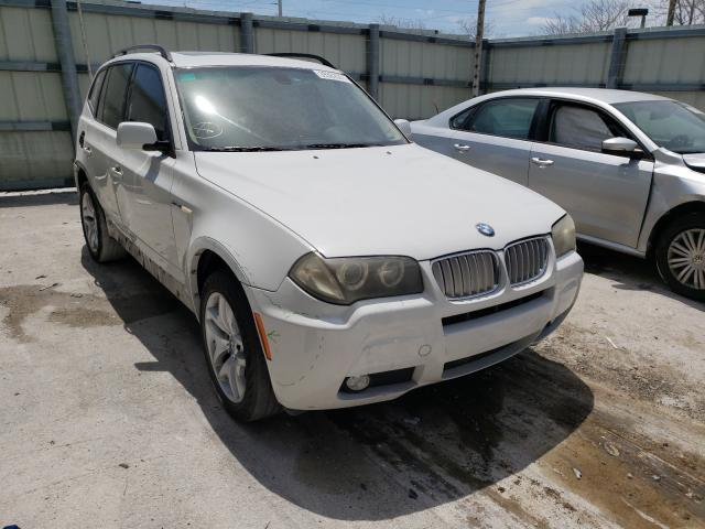 Salvage cars for sale from Copart Homestead, FL: 2007 BMW X3