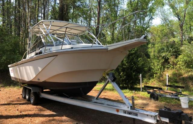 Salvage cars for sale from Copart Harleyville, SC: 1986 Boston Whaler Whaler
