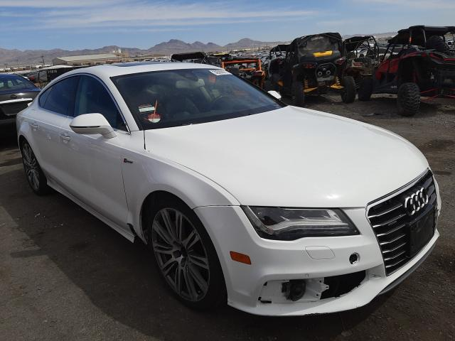 Salvage cars for sale from Copart Las Vegas, NV: 2012 Audi A7 Prestige