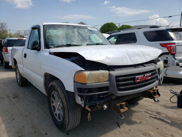 Salvage cars for sale from Copart Lebanon, TN: 2005 GMC New Sierra