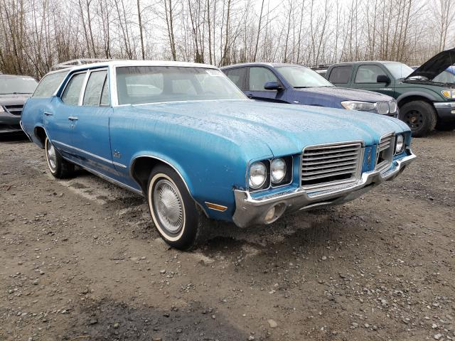 Oldsmobile Vehiculos salvage en venta: 1972 Oldsmobile Cruiserwgn