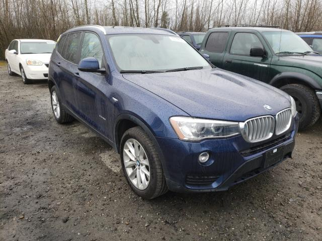 Salvage cars for sale from Copart Arlington, WA: 2017 BMW X3 XDRIVE2