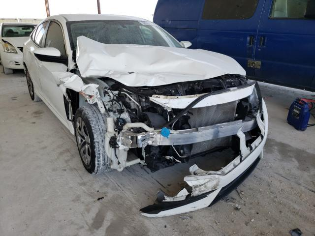 Salvage cars for sale from Copart Homestead, FL: 2018 Honda Civic LX