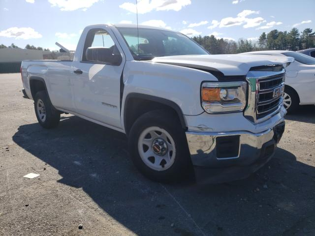 Salvage cars for sale from Copart Exeter, RI: 2015 GMC Sierra C15