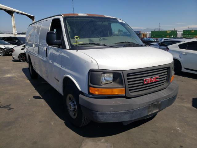 Salvage cars for sale from Copart Van Nuys, CA: 2005 GMC Savana G25