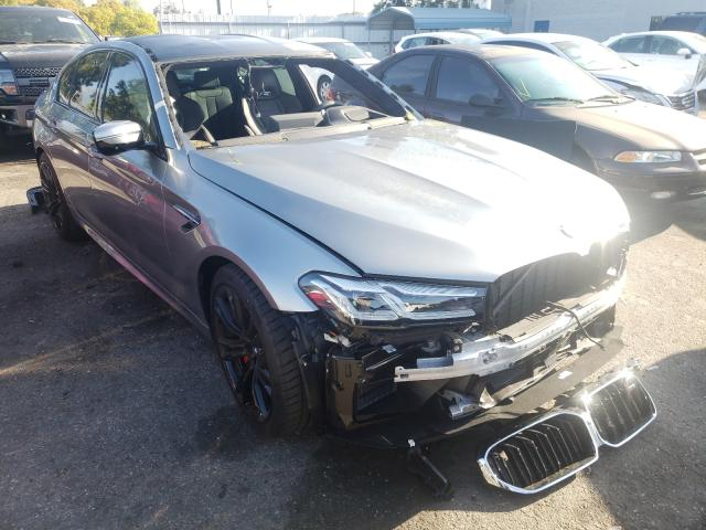 Salvage cars for sale from Copart Rancho Cucamonga, CA: 2021 BMW M5