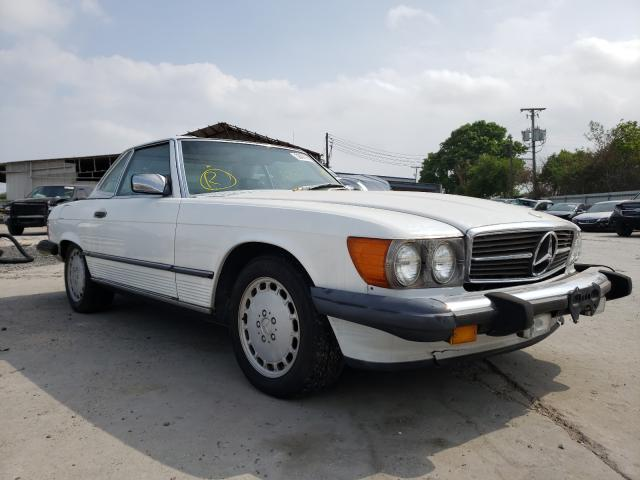 Mercedes-Benz 560 SL salvage cars for sale: 1988 Mercedes-Benz 560 SL