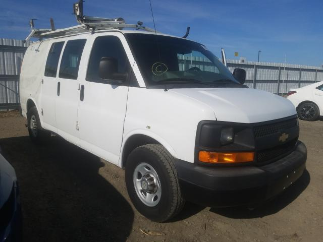 Salvage cars for sale from Copart Sacramento, CA: 2012 Chevrolet Express G2